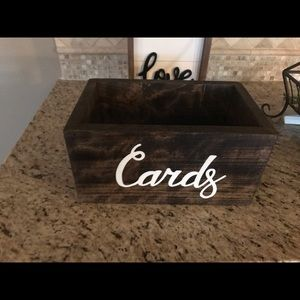 Other - Rustic Card Box